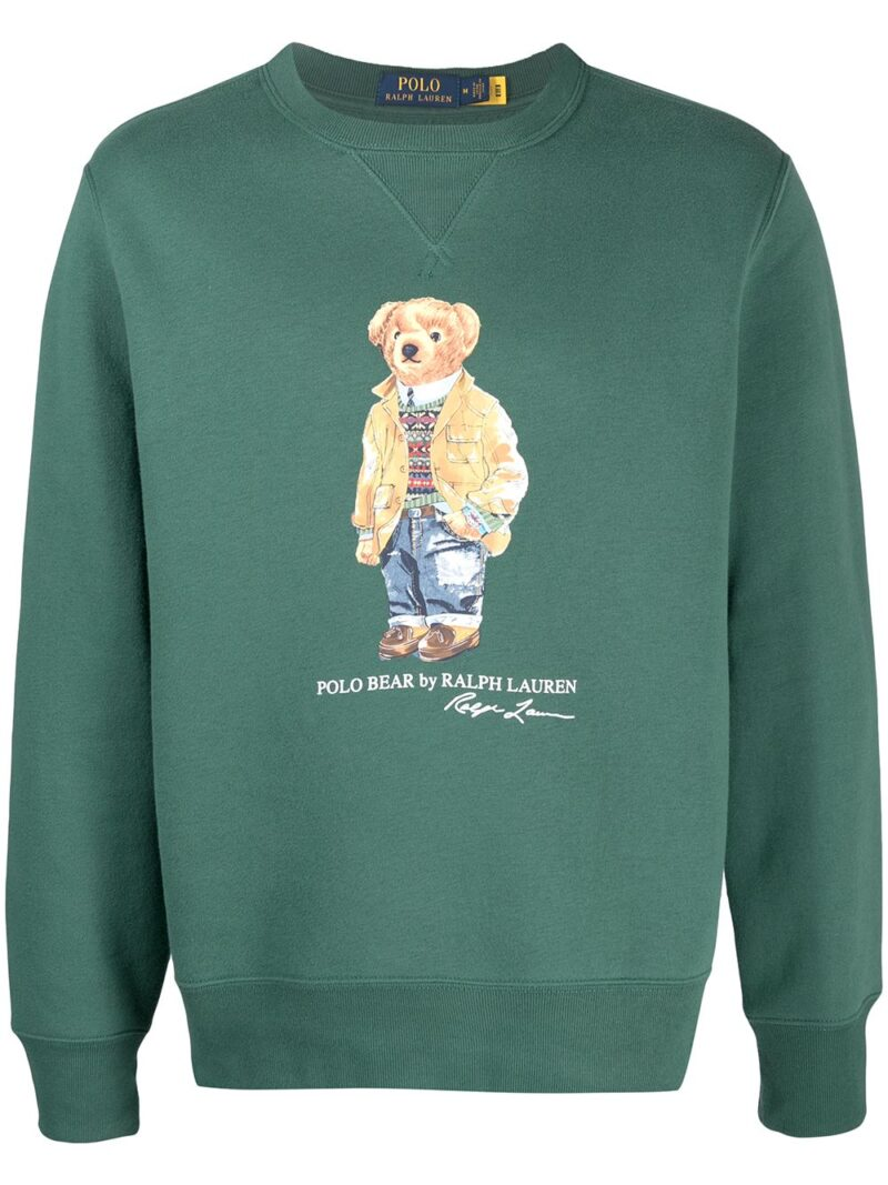 POLO RALPH LAUREN Felpa Washed forest