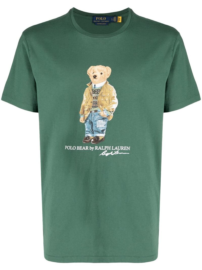 POLO RALPH LAUREN T-shirt Washed forest