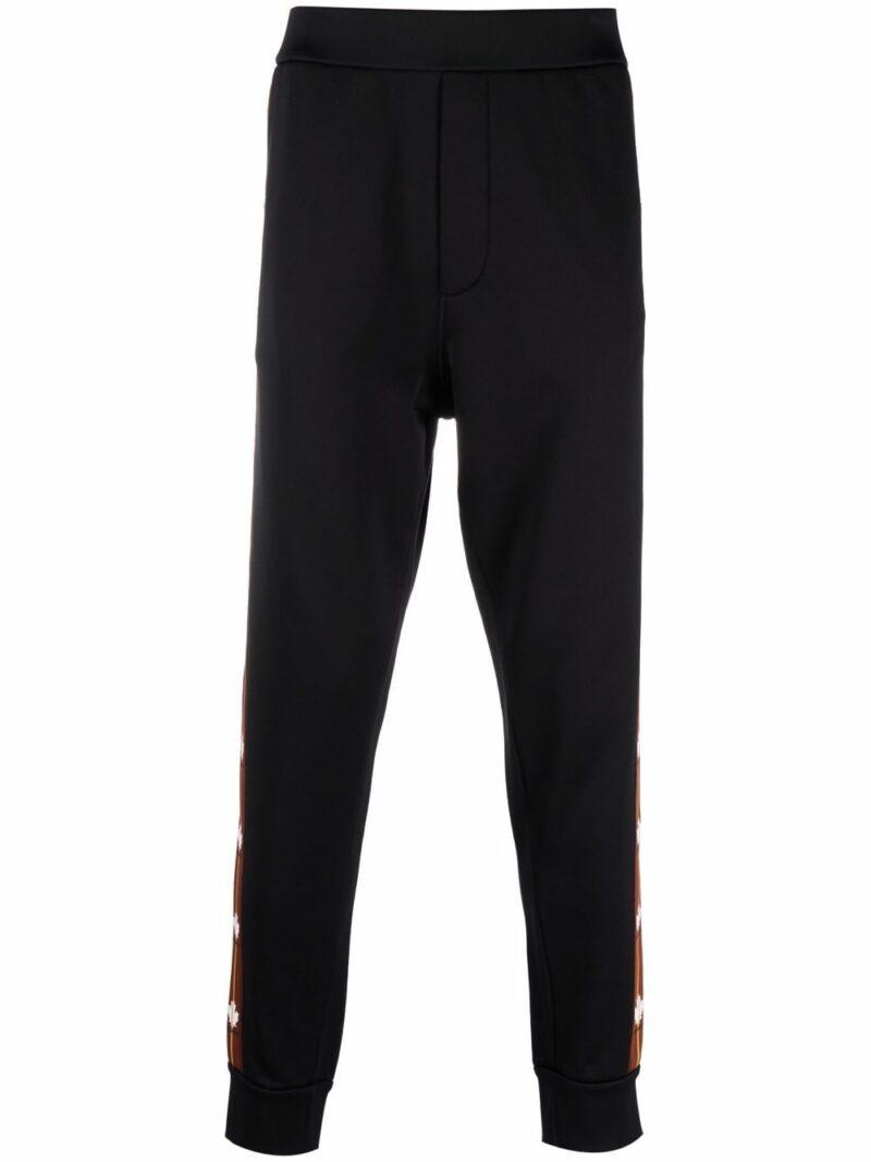 Dsquared2 Pantaloni sportivi fascia con logo