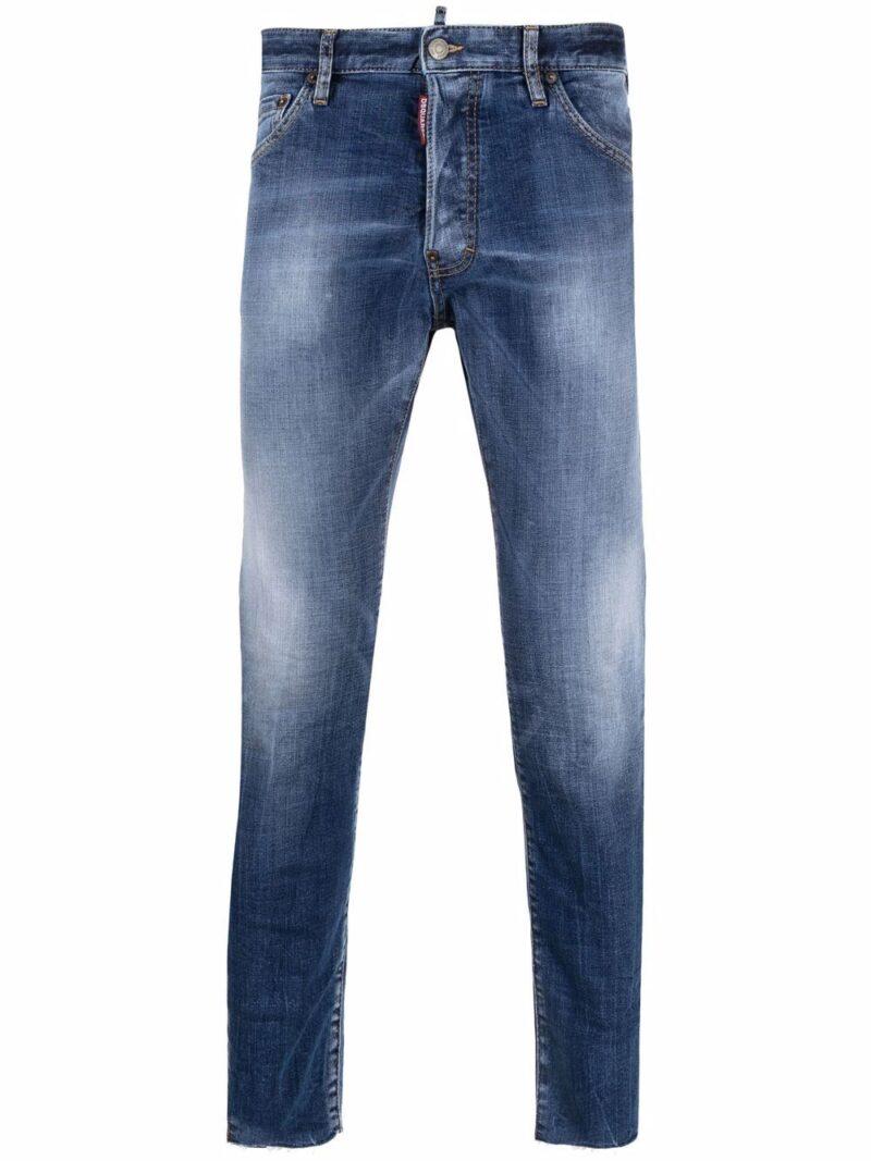 Dsquared2 Jeans skinny a vita media