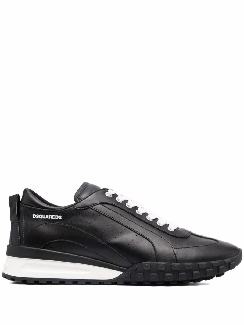 Dsquared2 Sneakers nere in pelle